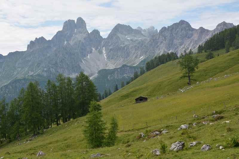 Familienurlaub Dachstein: Hier im Süden des Dachsteingebirge bei Filzmoos