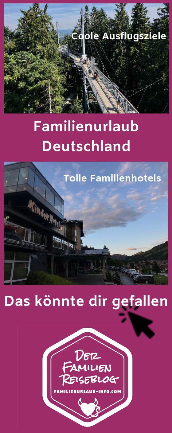 Familienurlaub Deutschland Tipps merken - mit diesem Pin auf Pinterest