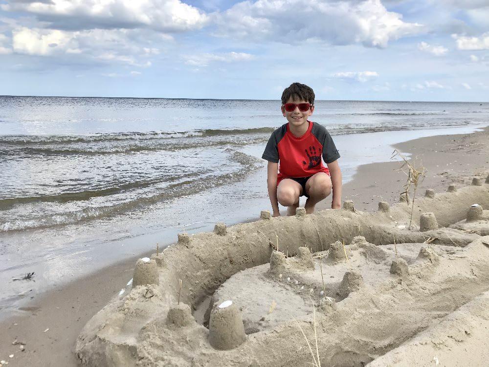 Traumstrände im Familienurlaub Deutschland an der Ostsee