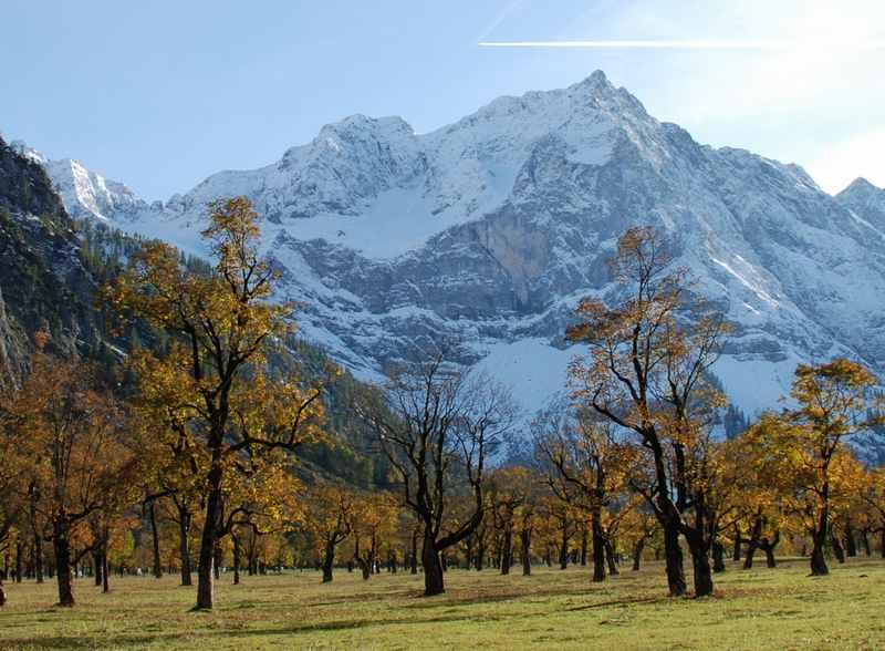 Familienurlaub wohin? Im Herbst definitiv in die Berge!