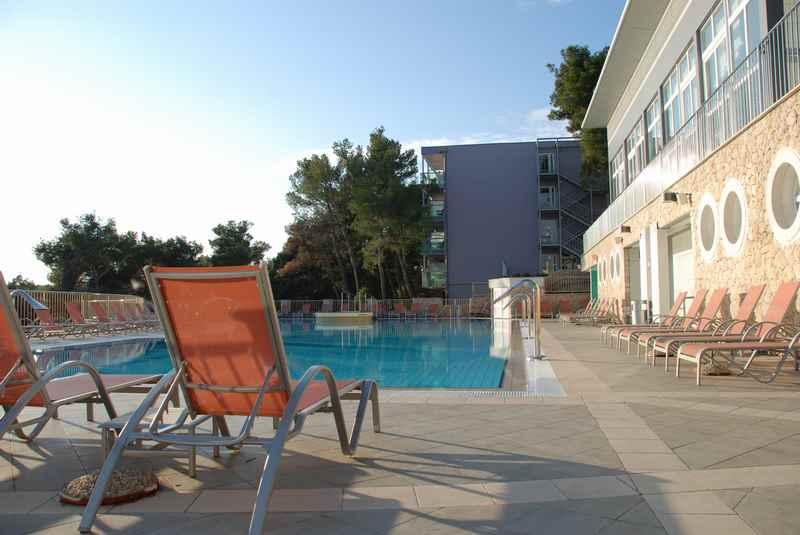 Es gibt ein offizielles Kinderhotel in Kroatien: Das Familienhotel Vespera