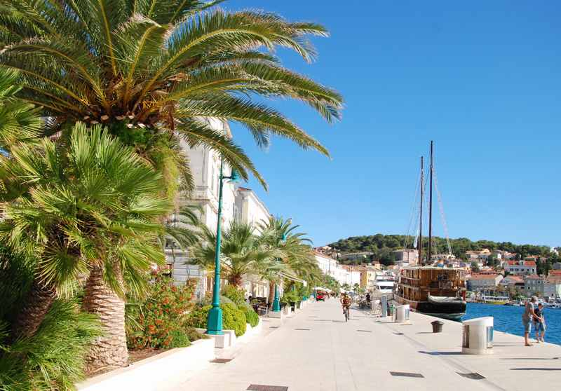 Familienurlaub am Meer in Kroatien - Auf der Insel Losinj