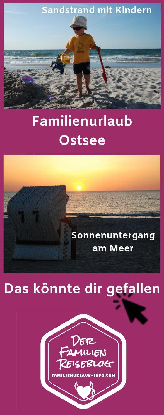 In Deutschland Familienurlaub am Meer: Familienurlaub an der Ostsee