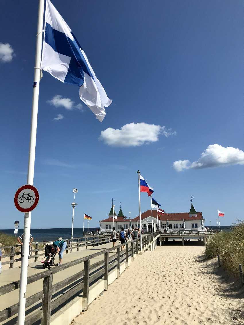 Auch das gehört einfach zur Ostsee dazu- die schönen Seebrücken