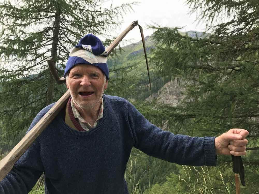 In Osttirol habe ich einen echten Almbauern getroffen. Hubert lebt für die Sommerzeit am Berg!