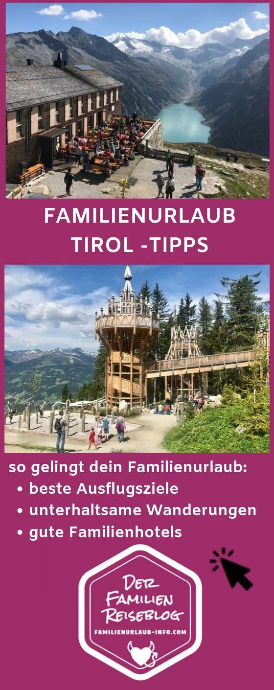 Viel schöne Landschaft im Familienurlaub Tirol: Das sind unsere Tipps