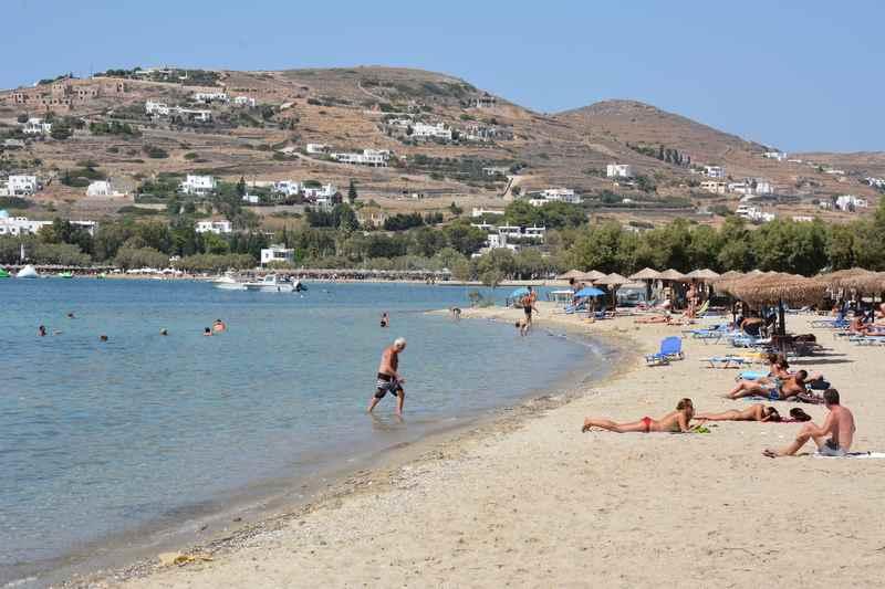 Empfehlungen für einen Familienurlaub am Meer - Wohin für einen Strandurlaub mit Kindern? Hier waren wir in Griechenland am Strand.