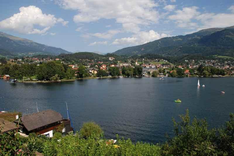 Familienurlaub am See Österreich: Sonnig und warm. Der Millstätter See in Kärnten