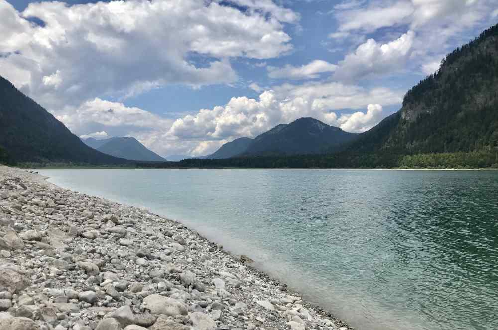 Familienurlaub am See Deutschland - sehr entspannend mit den Bergen