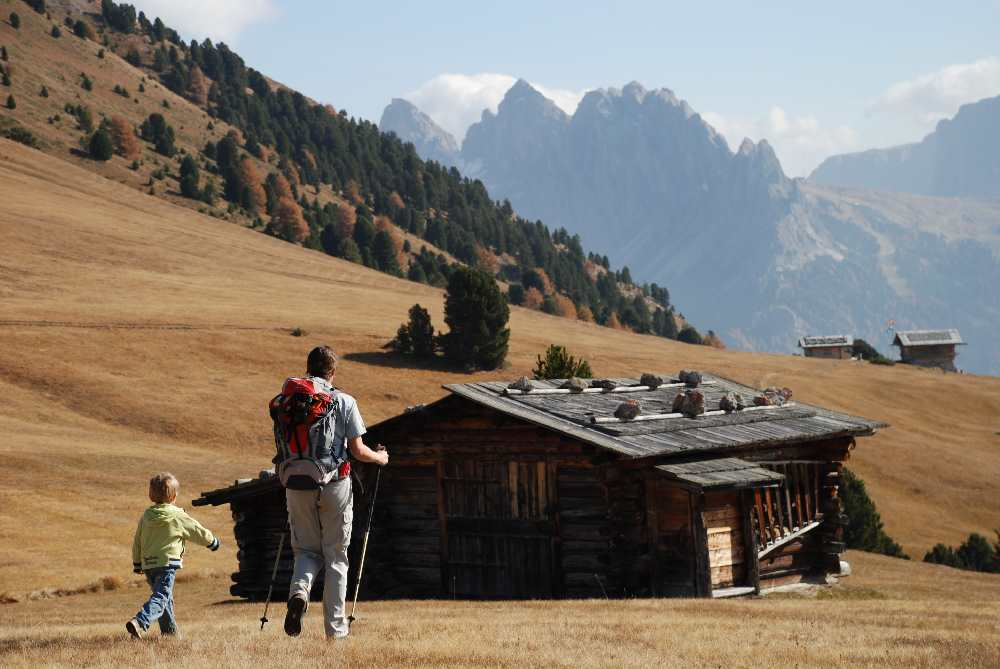 So schön waren die Familienwanderungen in Südtirol!