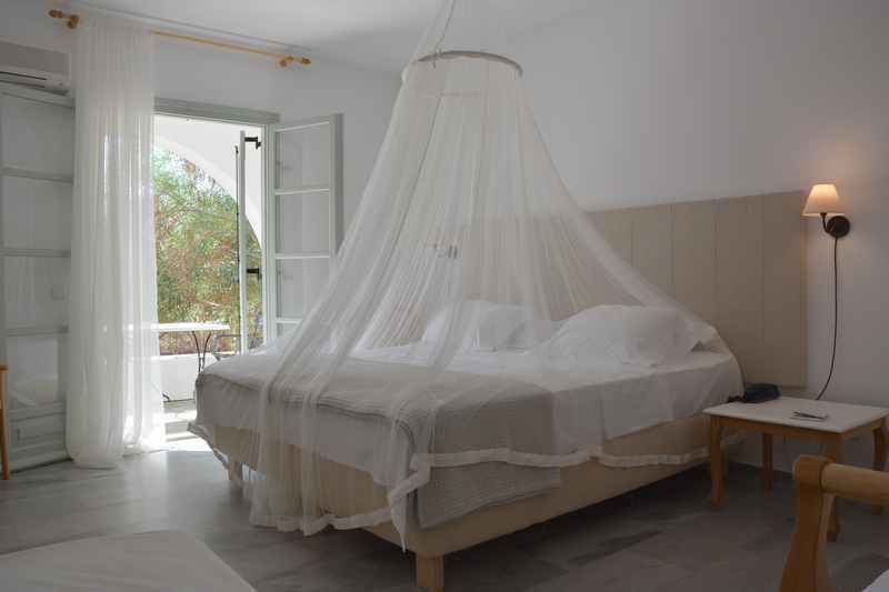 Unser Familienzimmer - samt Schutz vor den Mücken