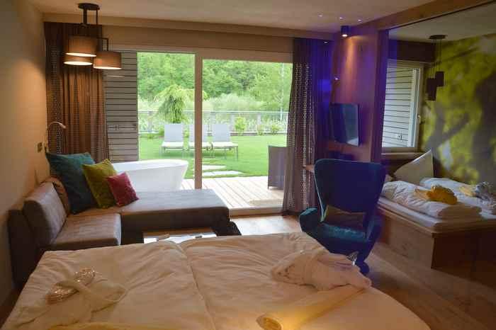 Die neuen Familienzimmer im Gartenhotel Moser in Südtirol