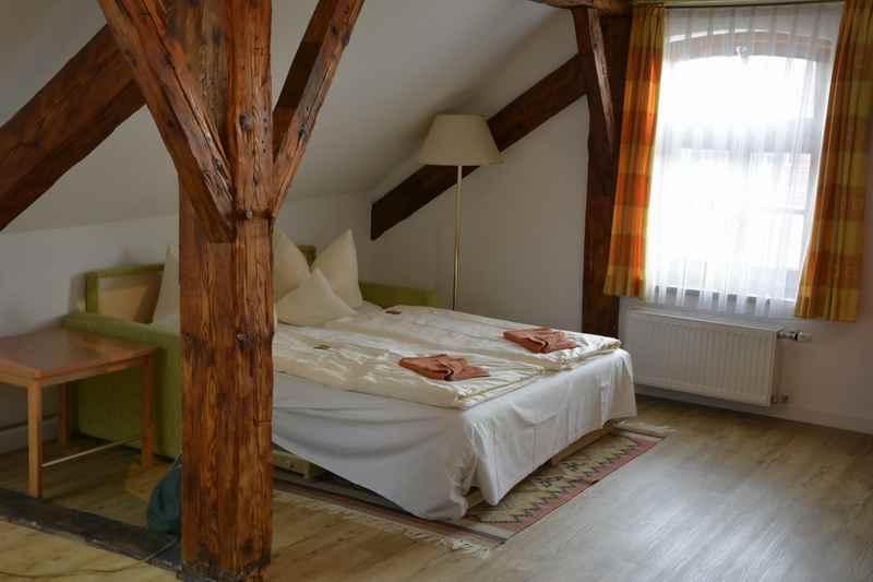 Hotel Angerbräu Murnau - viel Platz im historischen Dachgeschoß