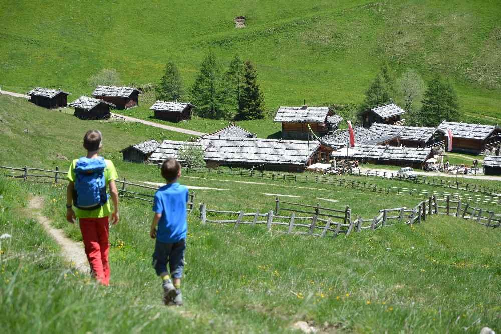 Die Wanderung zur Fane Alm mit Kindern