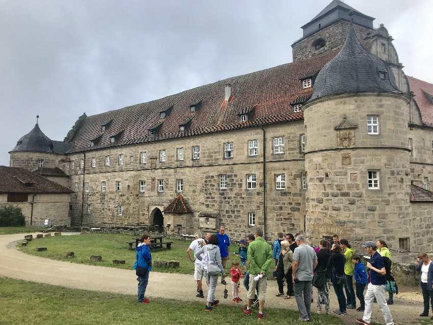Abwechslungsreich: Die Führung auf der Rosenberg Festung Kronach