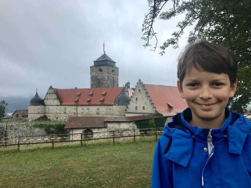 Unsere Führung auf der Festung Rosenberg mit Kindern