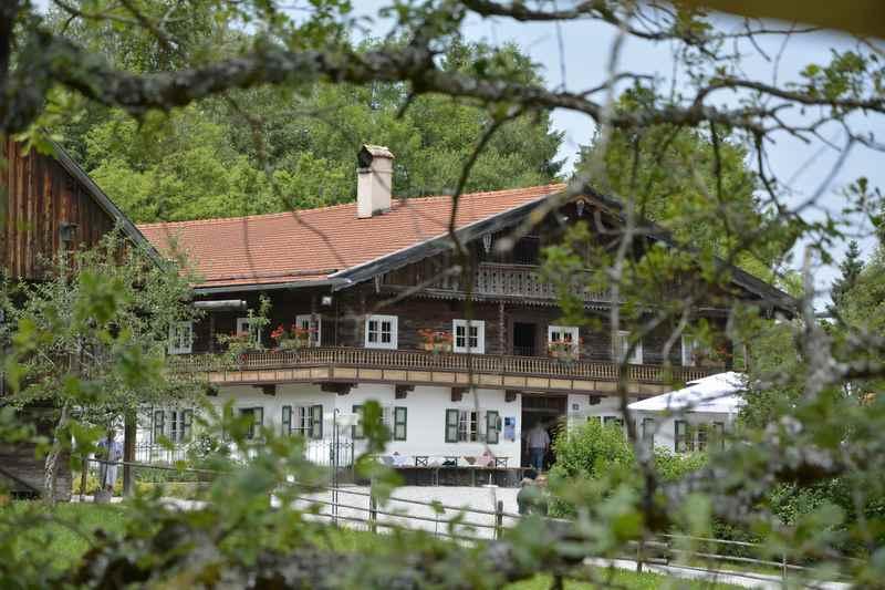 Familienausflug ins Freilichtmuseum Glentleiten in Bayern, zwischen Staffelsee und Kochelsee