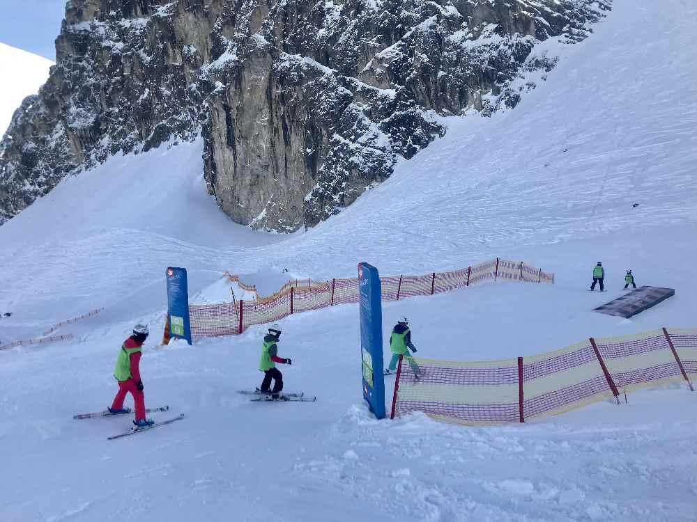 Skigebiet Axamer Lizum: Die Einfahrt in die Funslope verpasst kein Kind!