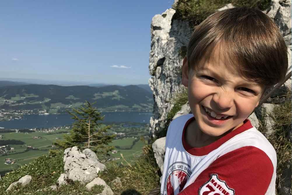 """Schober Wanderung: Er findet das Kraxeln auf den Gipfel """"spannend"""""""