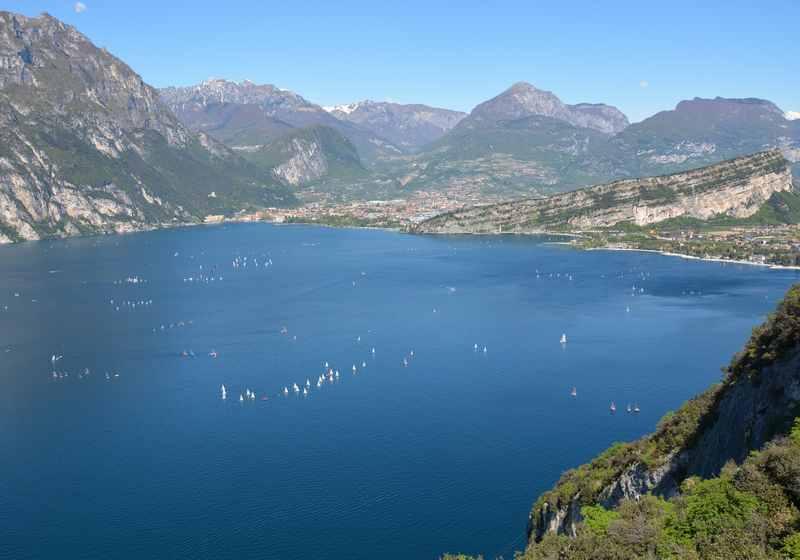 Am Gardasee wandern mit Kindern: Unsere schönste Wanderung auf dem Sentiero Busatte