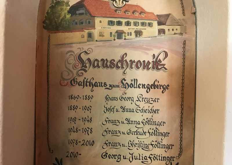Gasthof Föttinger : Die Tradition des Gasthofs im Salzkammergut wird dokumentiert