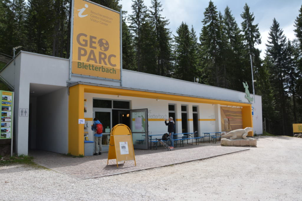 Das Informationszentrum Geoparc Bletterbach