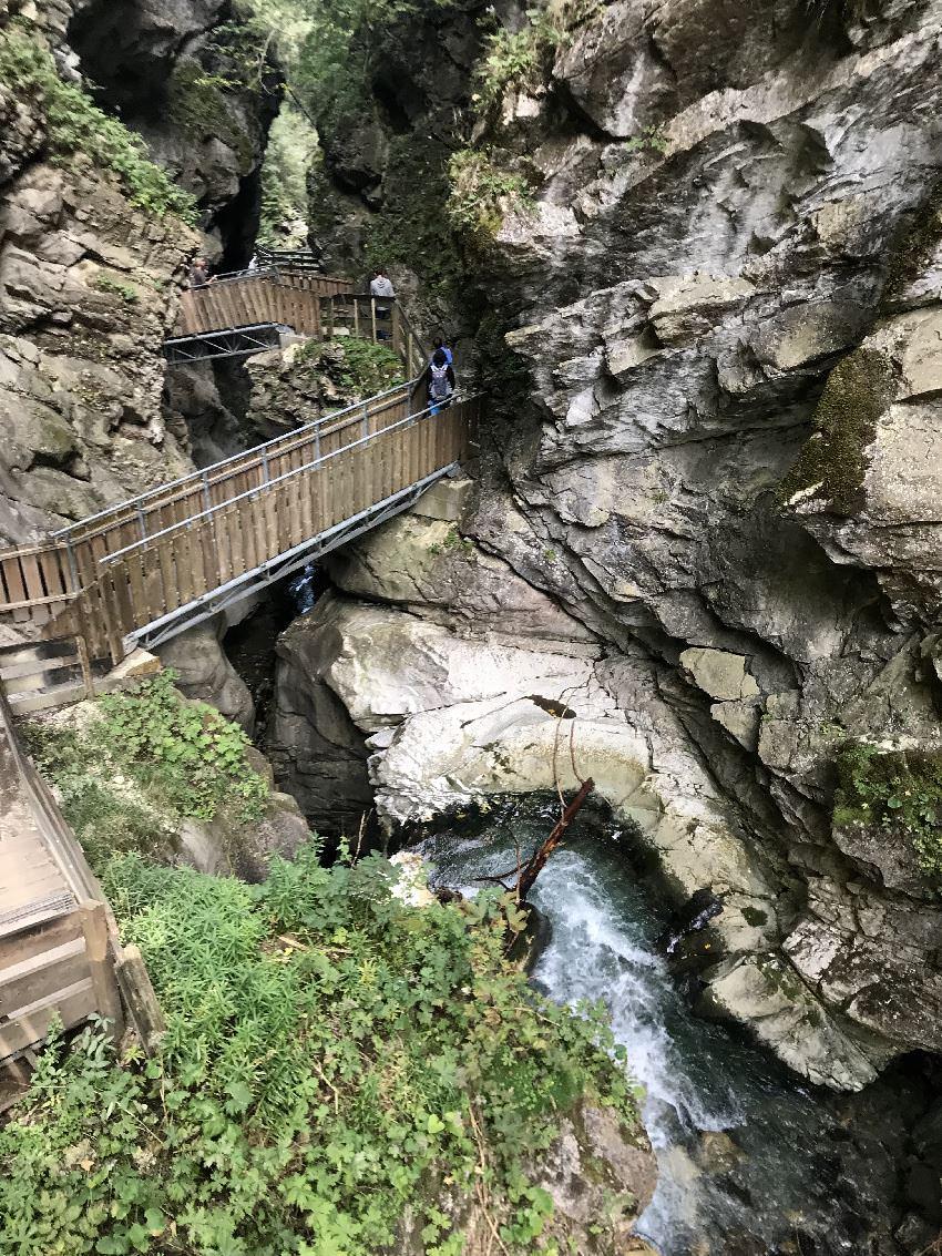 Gilfenklamm Sterzing - Ein lohnenswerter Ausflug mit Kindern in Südtirol