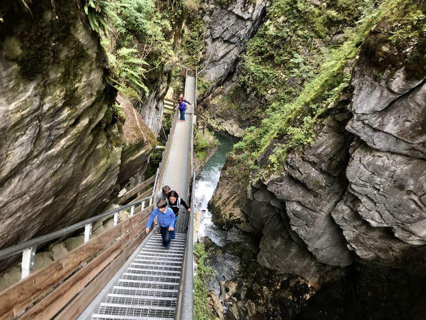 Gilfenklamm wandern - unsere Eindrücke vom Wandern mit Kindern in Südtirol