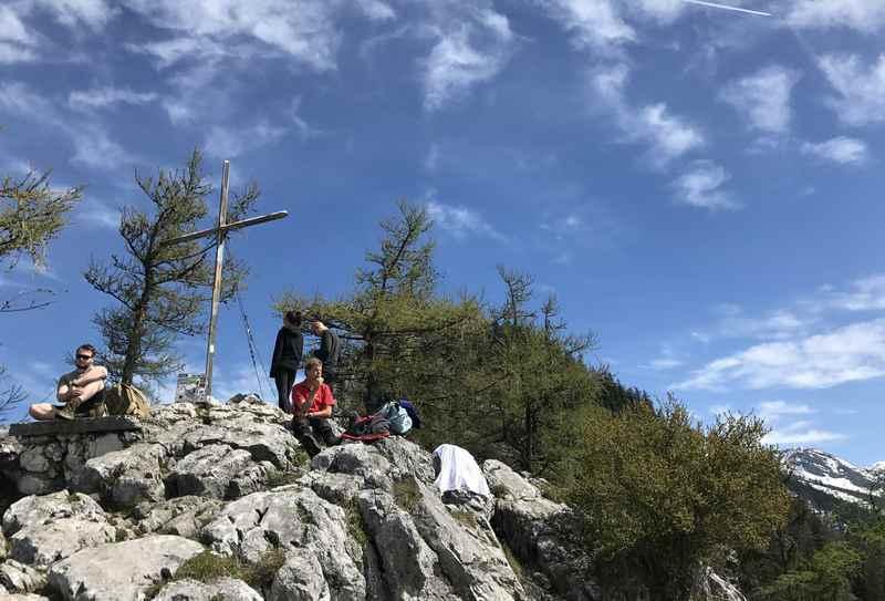 Der Gipfel des Schoberstein schaut unspektakulär aus...