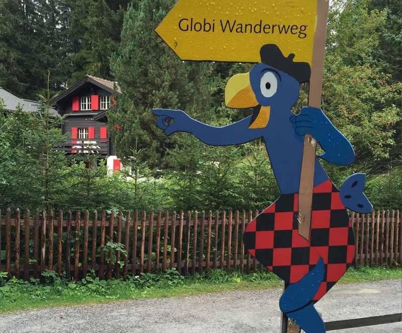 Der Globi Wanderweg - die Kinder lieben ihn