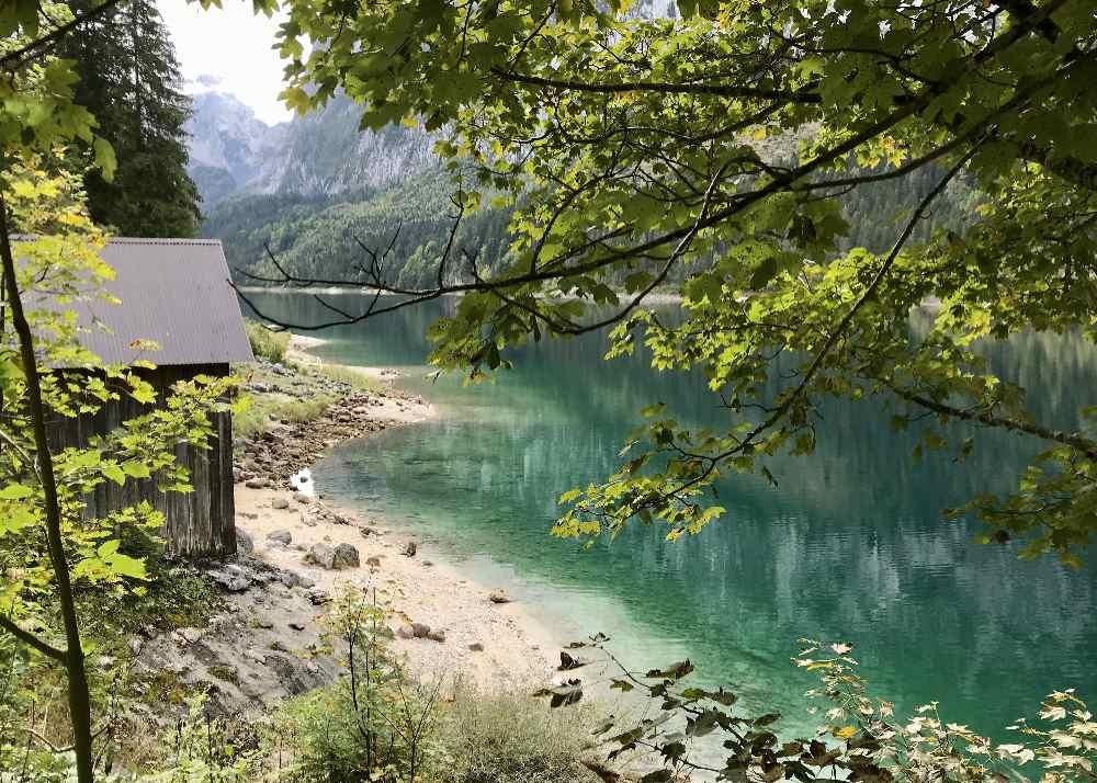Glasklar und türkis - der Gosausee im Dachsteingebirge