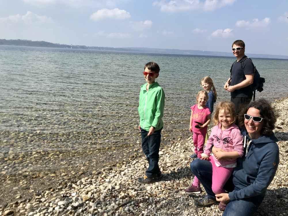 Gourmetwanderung Starnberger See - mit Kindern von Gasthof zu Gasthof wandern