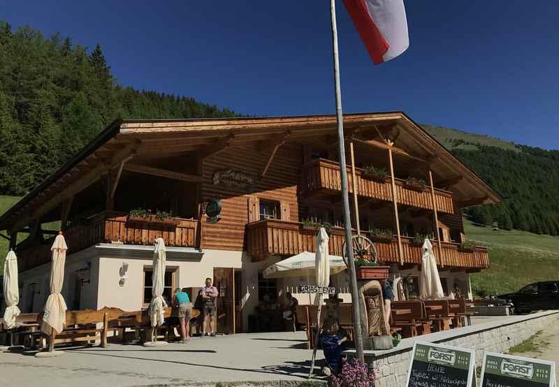 Die Großberghütte im Altfasstal