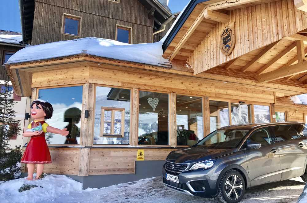 Ankunft im Heidihotel in Kärnten