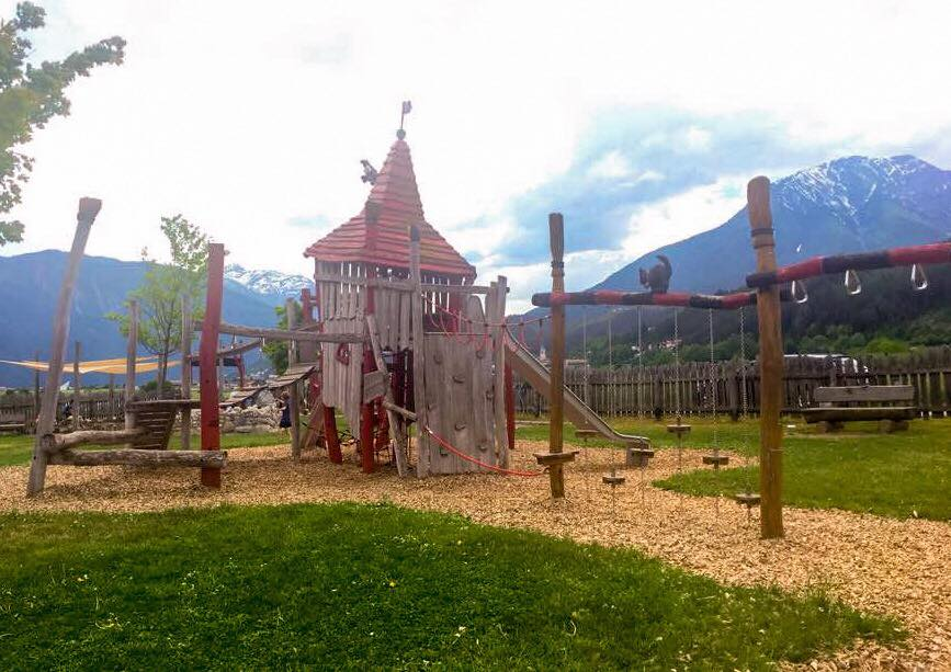 Danke für´s Bild: Simone Gsrtaunthaler - der Hexenspielplatz in Tirol