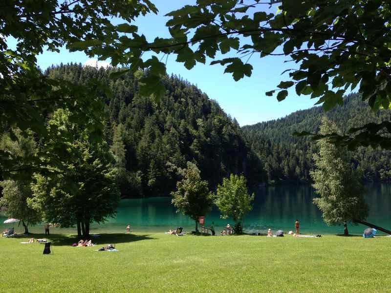 Der Hintersteiner See am Kaisergebirge