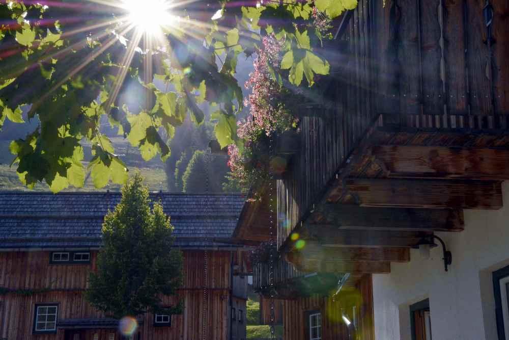 Das ist die Idylle, die Urlauber in Österreich suchen - und im Hüttendorf in Altaussee finden
