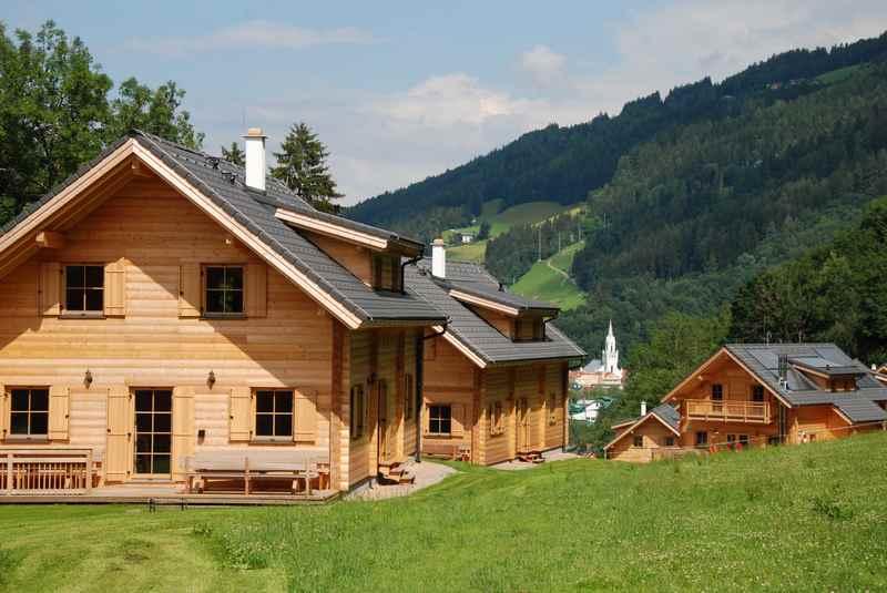 Das Hüttendorf Schladming, direkt am Skilift gelegen. Abseits vom Ort.