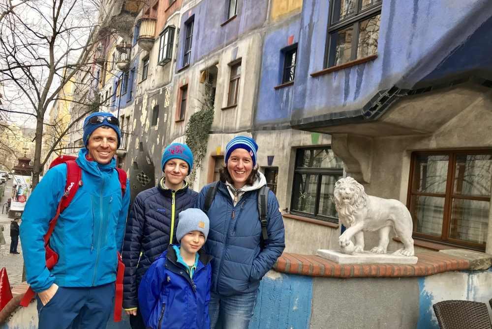 Die wohl meistbesuchten Sozialwohnungen in Österreich: Das Hundertwasserhaus in Wien