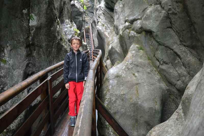 In der Innersbergklamm wandern