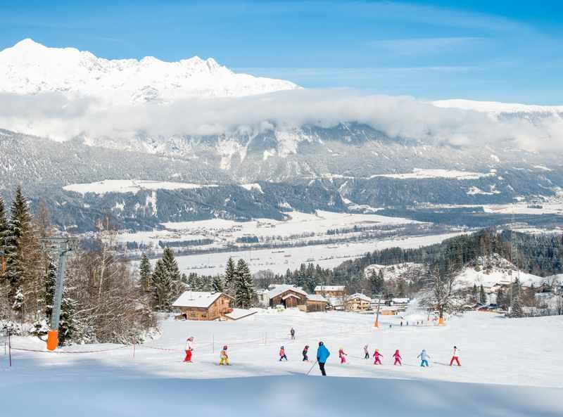 Kleines Skigebiet für Familien in Tirol - der Hoferlift in Kolsassberg