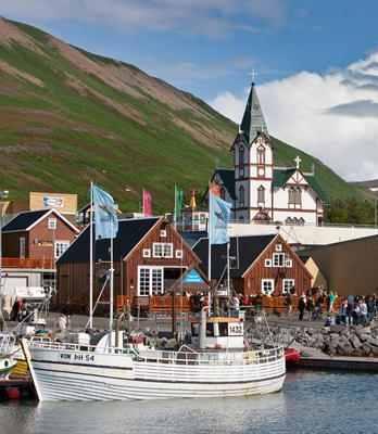 Familienhotel Island in malerischer Kulisse