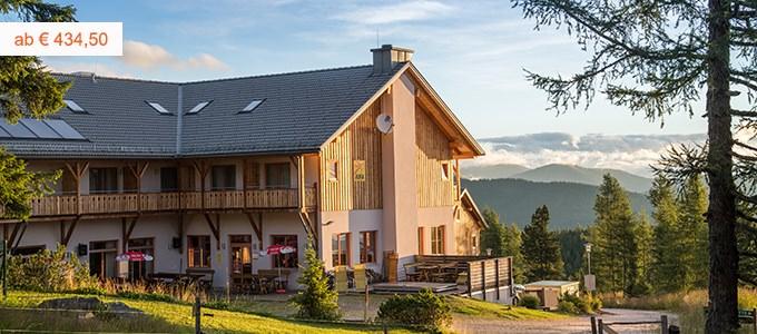 Familienhotel in den Bergen in Kärnten