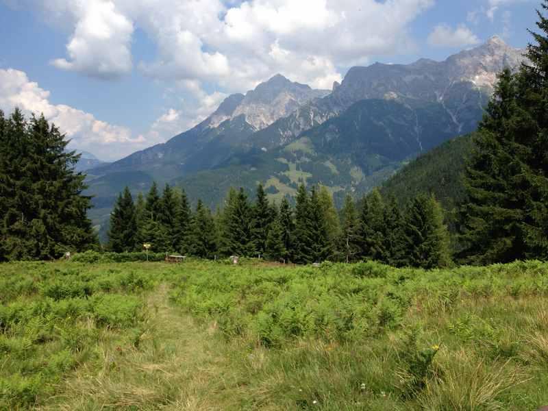 Jufen Maria Alm - wandern mit Kindern auf den Brimbachkogel