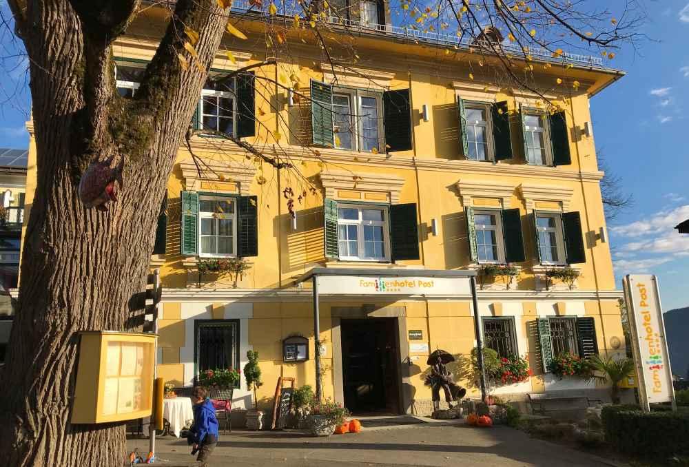 Familienhotel Österreich mit herrschaftlichem Charme: Kinderhotel Post, Millstätter See