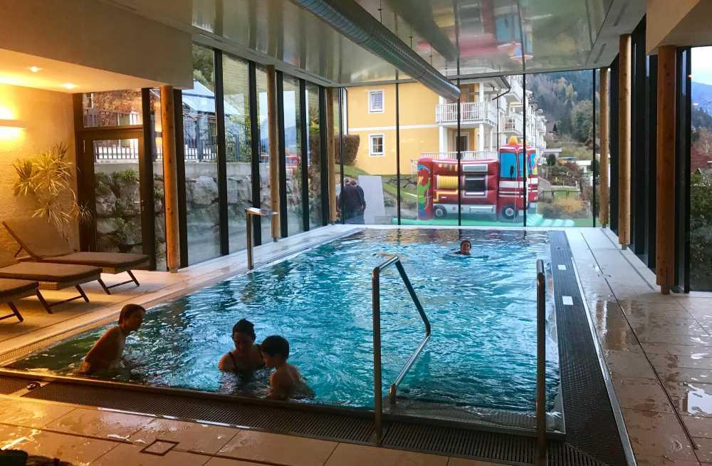 Familienhotel Kärnten mit Pool - auch in der Post am Millstätter See