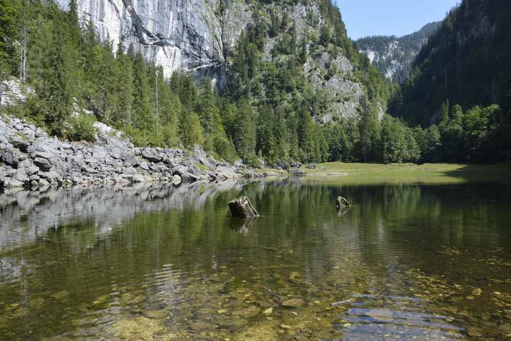 Der kleine naturbelassene Kammersee im Altausseerland