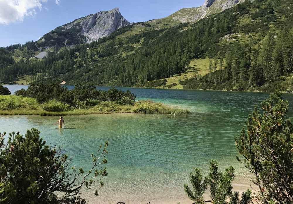 Für uns die Karibik - mitten in der Steiermark im Salzkammergut: Der Steirersee