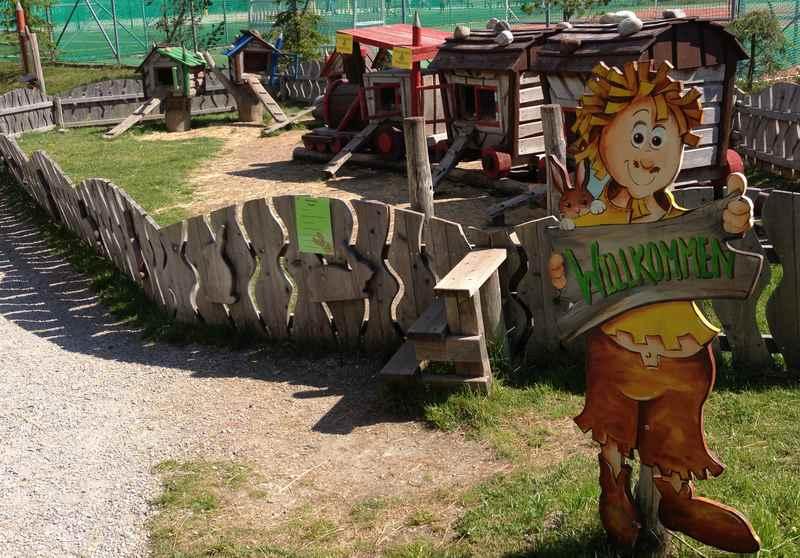 Willkommen in Katschhausen - dem Spielplatz am Katschberg