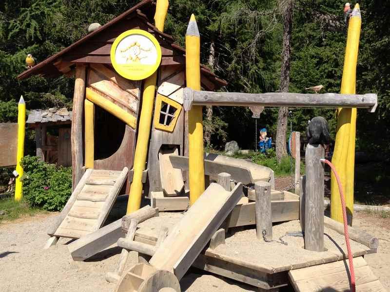 Katschhausen, die Kindererlebniswelt in Kärnten